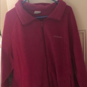 Columbia Women's Pink Fleece Jacket